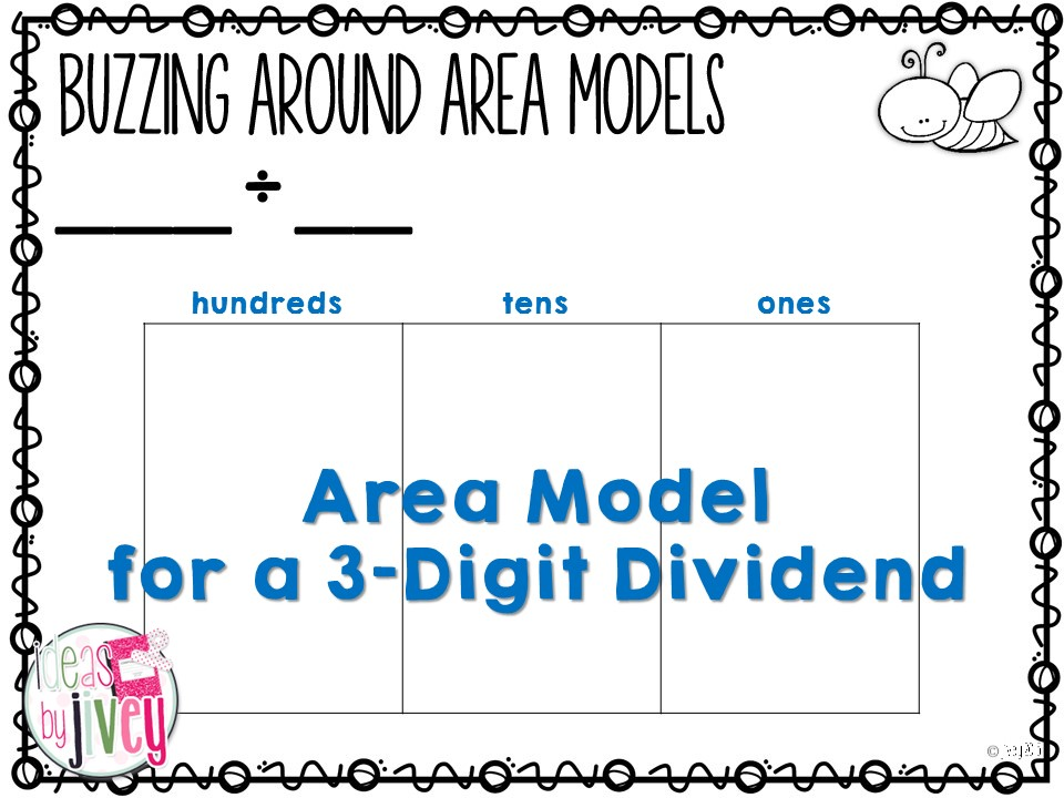 Why I love the Division Area Model (and you should, too)! | Ideas by ...
