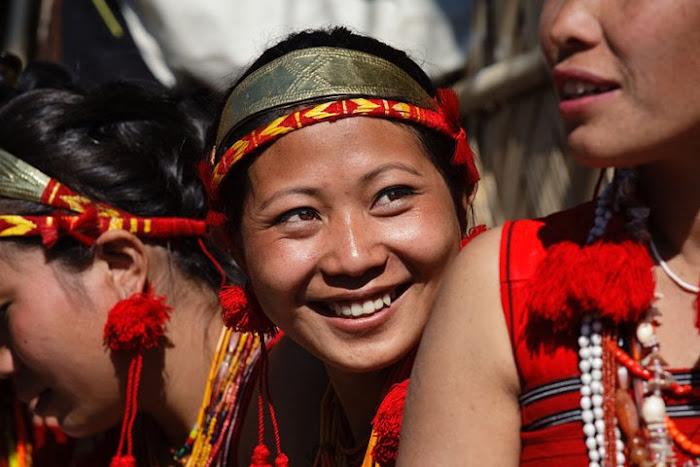 Phom girl, Nagaland - Johan Gerrits photography