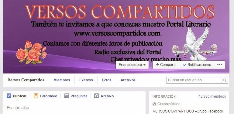 GRUPO FACEBOOK VERSOS COMPARTIDOS