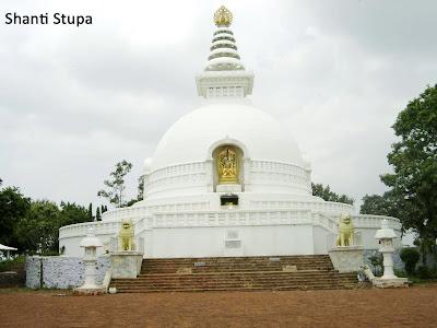 Shanti Stupa in bihar