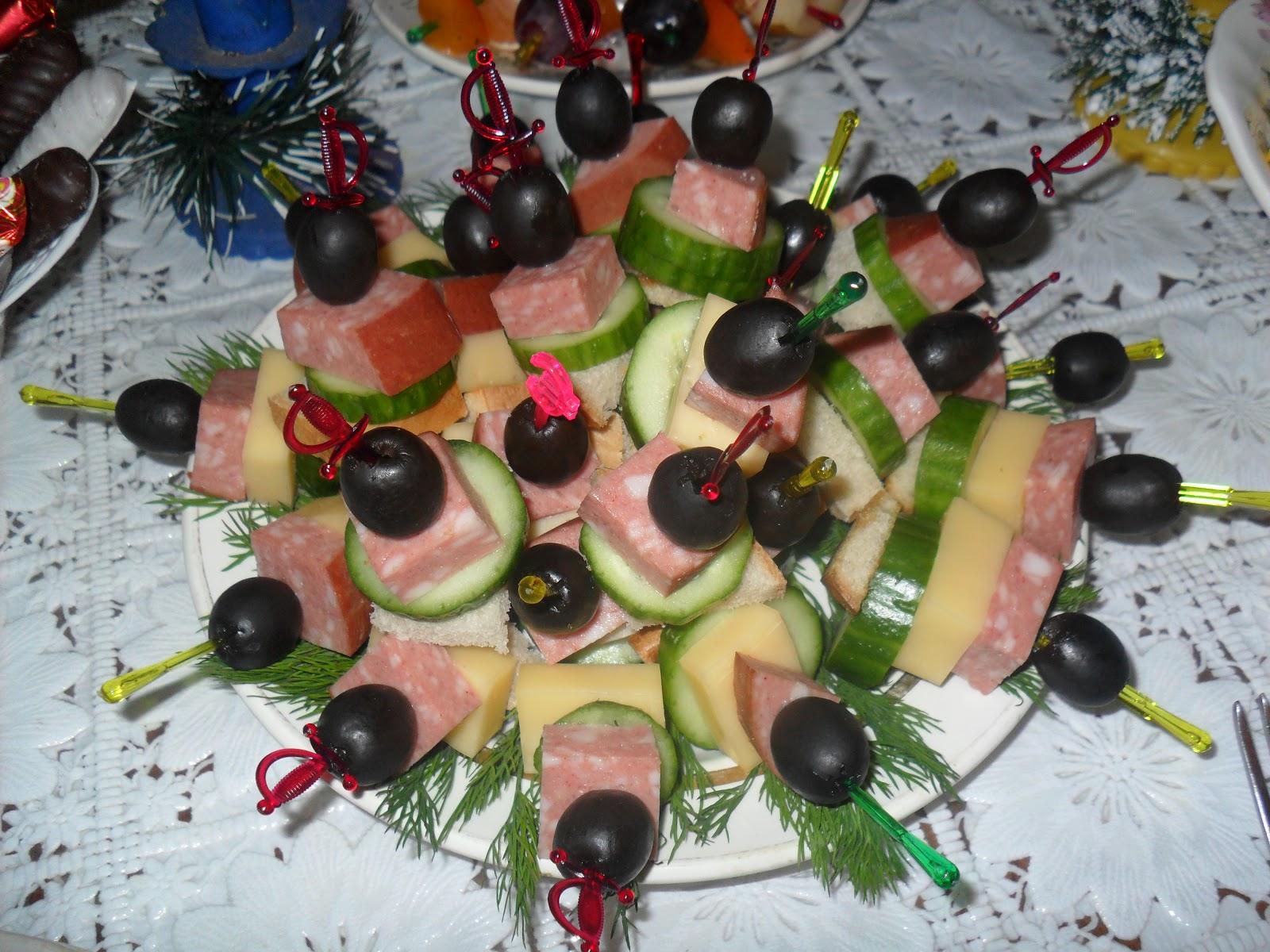 Канапе на праздничный стол 26 рецептов с фото пошагово