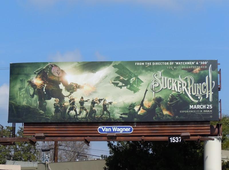 Sucker Punch shooting billboard