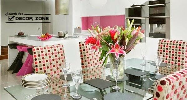 pink modern kitchen interior design ideas modern kitchen design with