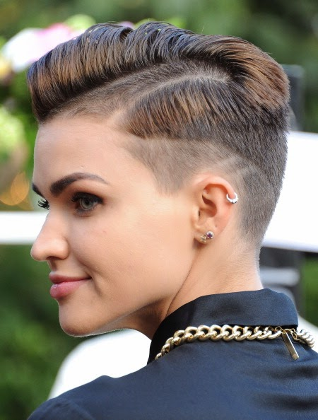 Hairstyles Ruby Rose : Ruby Rose Haircut 2015