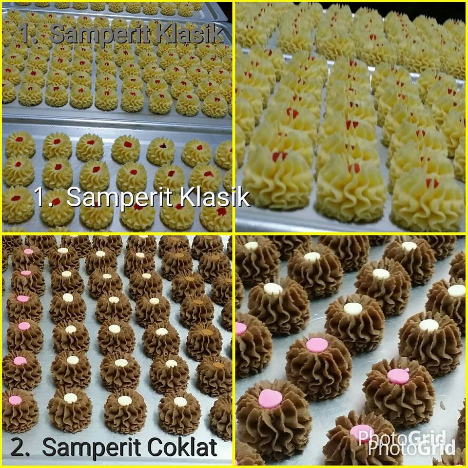 Samperit Klasik & Samperit Coklat