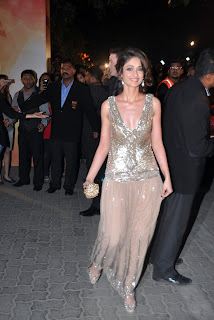 Ilieana at 58th Filmfare Awards