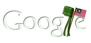Google Papar Logo Khas Raya-Merdeka