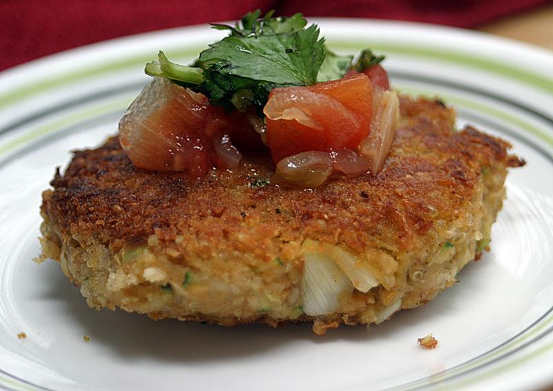 Veggie Converter: Zucchini Quinoa Burgers {Vegan}: This ...