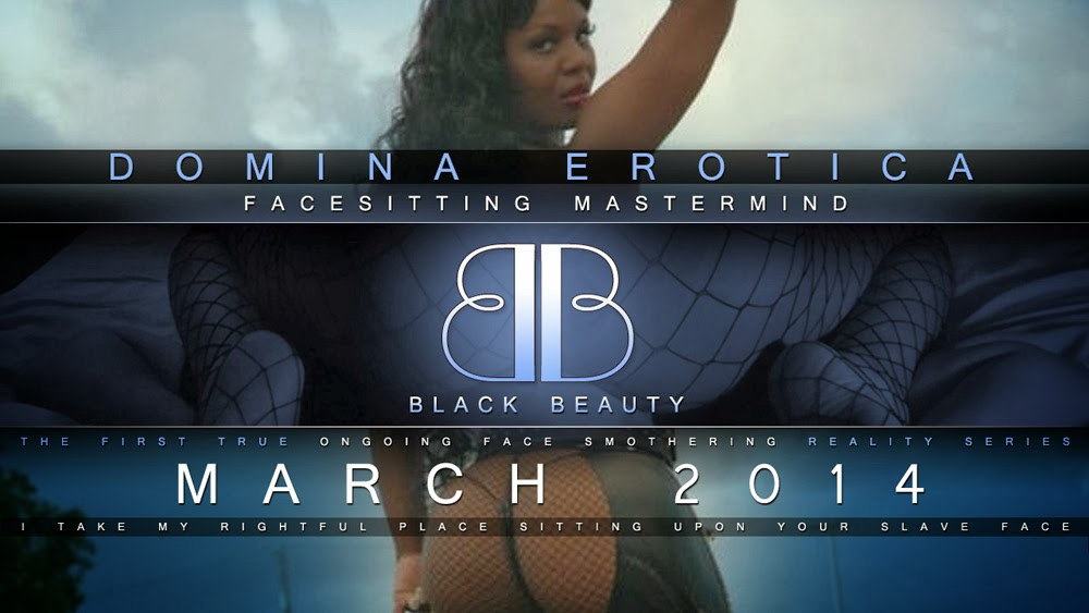 Black Beauty Master Mind Facesitting Domination at its finest!