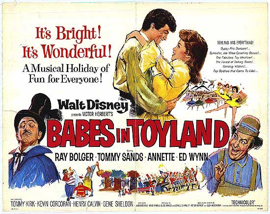 Babes in Toyland movie poster