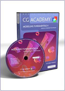 CG Academy 3Ds Max Modelling Fundamental 4