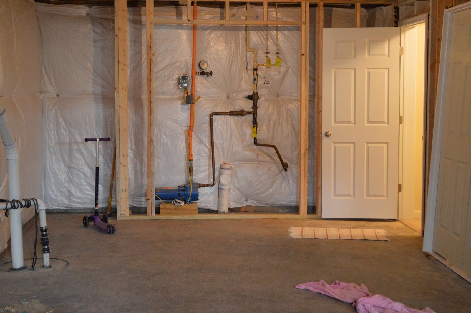 Right Up My Alley Our Unfinished Basement Tour And How We Built - Unfinished basement stairs