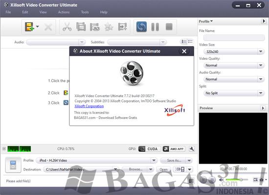 Xilisoft Video Converter Ultimate 7.7.2 Full Keygen 2