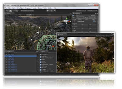 Free Download Unity 3D Software Pencetak Games 3D