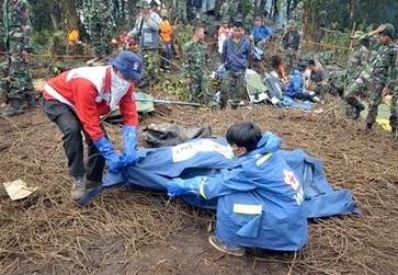 'Black box' found of Russia jet in Indonesia crash