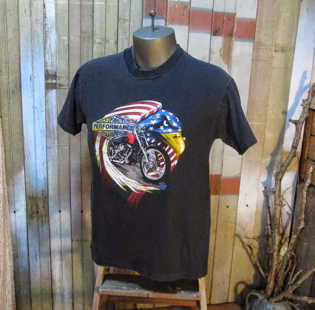 All American Biker T shirt