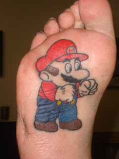 Cartoon Character Tattoos