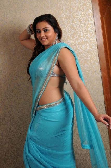 Namitha Sexy Low hip Saree Navel Photos   Gsv Pics - Photos with