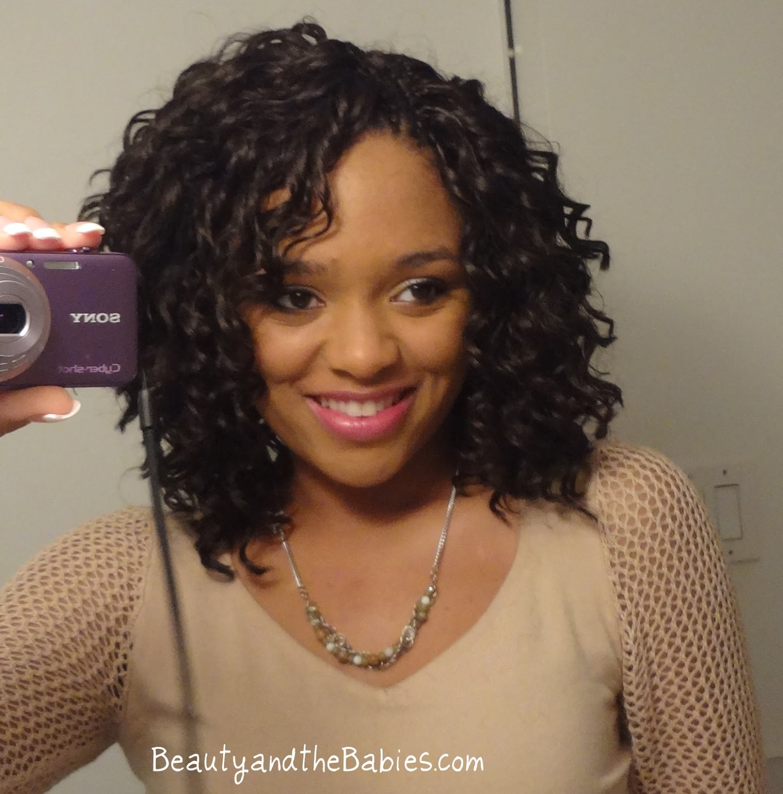 Beauty and the Babies: Crochet Braids - Pic Heavy!