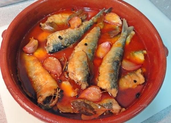 Sardinas en escabeche - Como cocinar sardinas ...