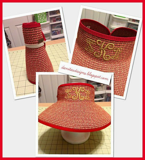 Danita s designs embroidered sun hat
