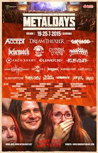 FESTIVAL METALDAYS 2015