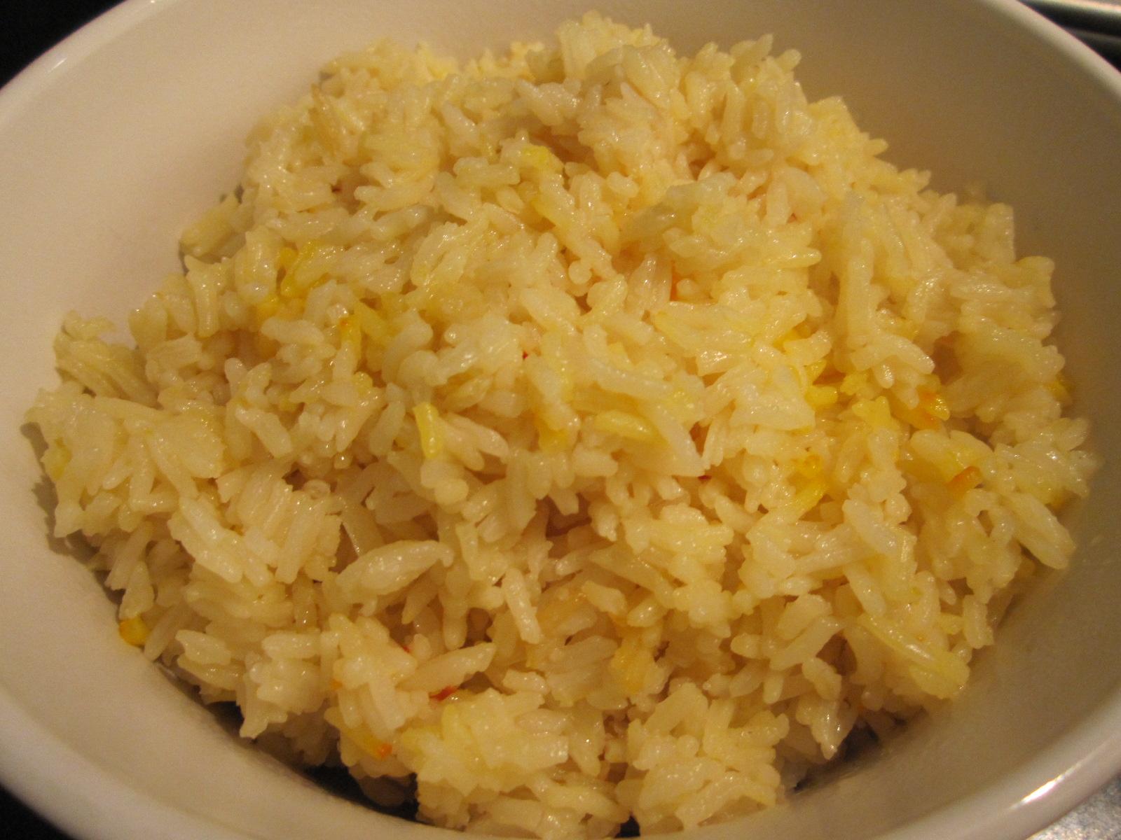 Saffron Rice Recipe — Dishmaps