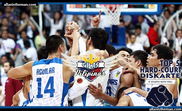 2013 FIBA Asia Championship: Gilas Pilipinas ends the Korean Scare