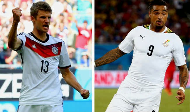 Jerman Bertahan Melawan Ghana Jadwal World Cup Piala Dunia 2014