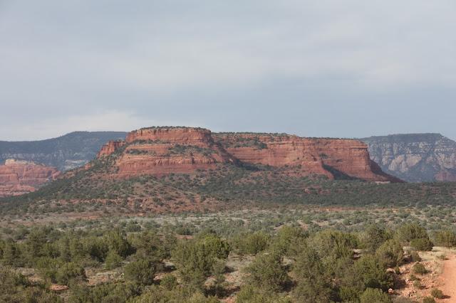 Sedona Arizona red mountains