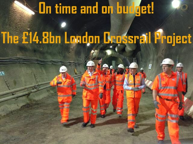 London Crossrail Project - On Time and On Budget