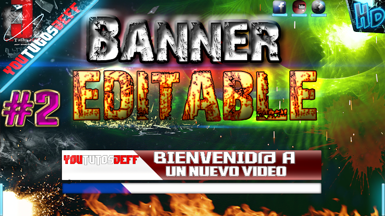 BANNER EDITABLE #2 CON AFTER EFFECTS CS6 | 2015