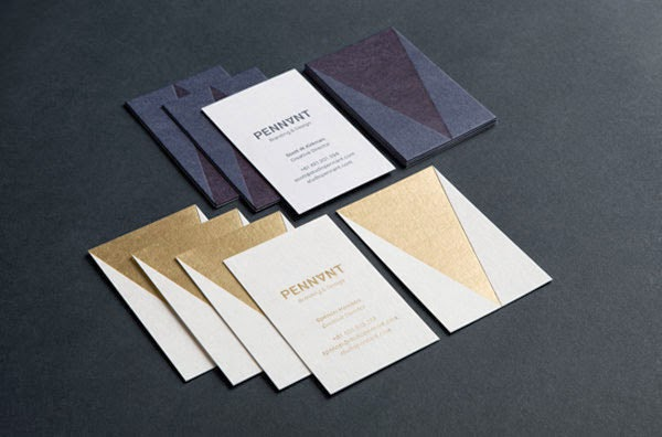 16 Gold Foil Business Cards that Stand Out from the Pack Jayceo