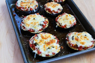 Recipe for Julia Child's Eggplant Pizzas (Low-Carb, Gluten ...