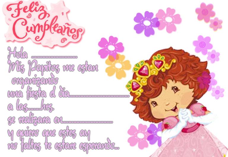 tarjetas de cumpleaños: Tarjetas de cumpleaños para niñas