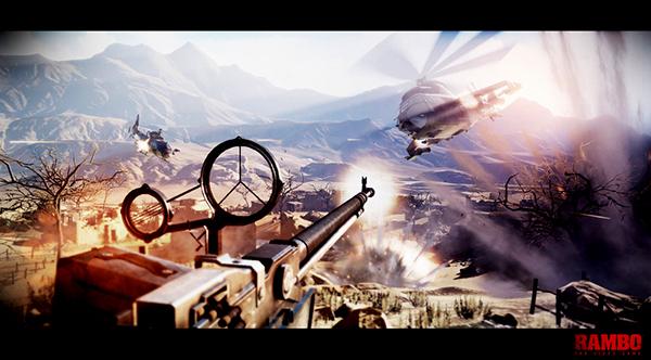 Rambo - The Video Game screenshot 2