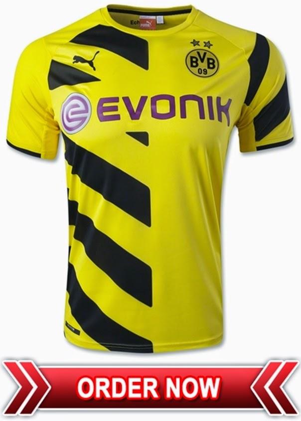 Jersey Borussia Dortmund Home 2015 Grade Ori