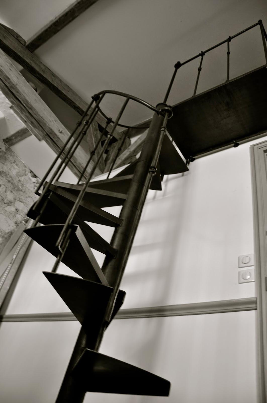 la ferronnerie de gauville escalier colima on avec sa rampe. Black Bedroom Furniture Sets. Home Design Ideas