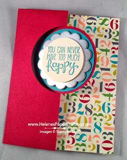 circle card thinlits die birthday card