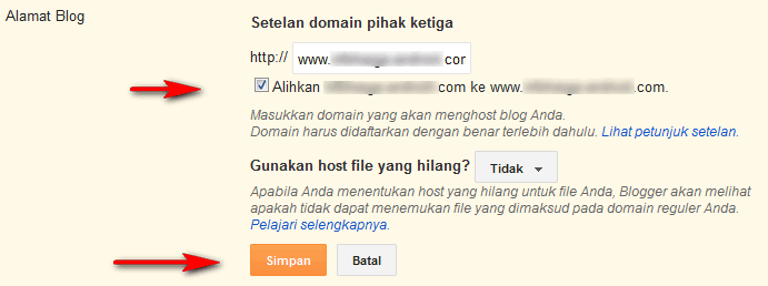 Cara Parking Domain GoDaddy Ke Blogspot Terbaru 2015