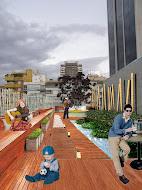 Diseño de Terraza en Hotel 4*