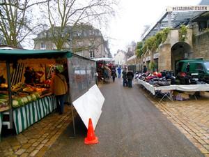 Week-end à Blois : marché de Blois