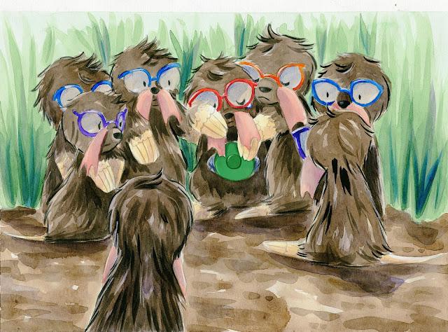 children's book illustration, children's book illllustration, watercolor illustration, watercolor children's book, Becca Hillburn