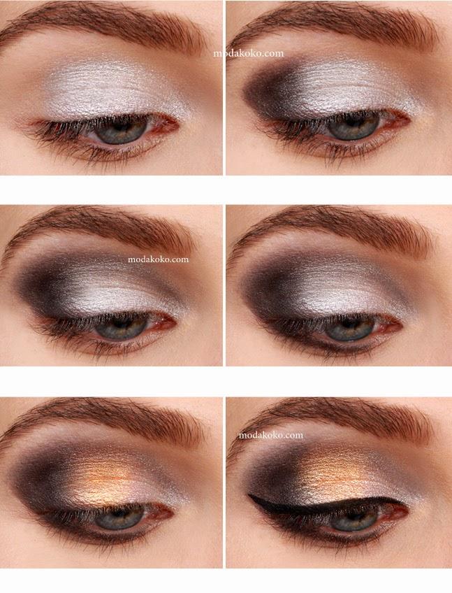 2015 Yılbaşı Göz Makyajı
