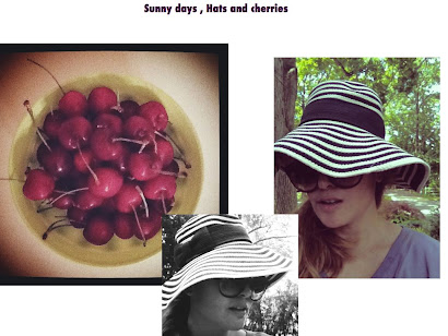 Sunny days hat and cherries