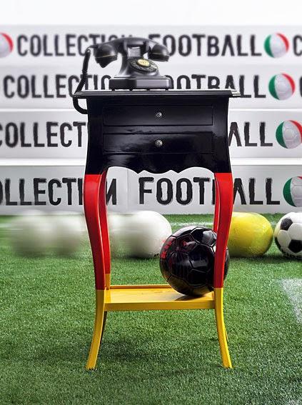 El Mundial de Futbol llega a la decoración Mueble seleccion alemana