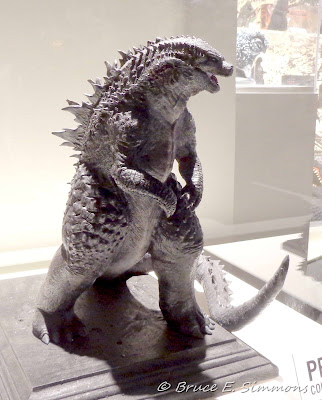 Godzilla model at Comic-Con 2013 event