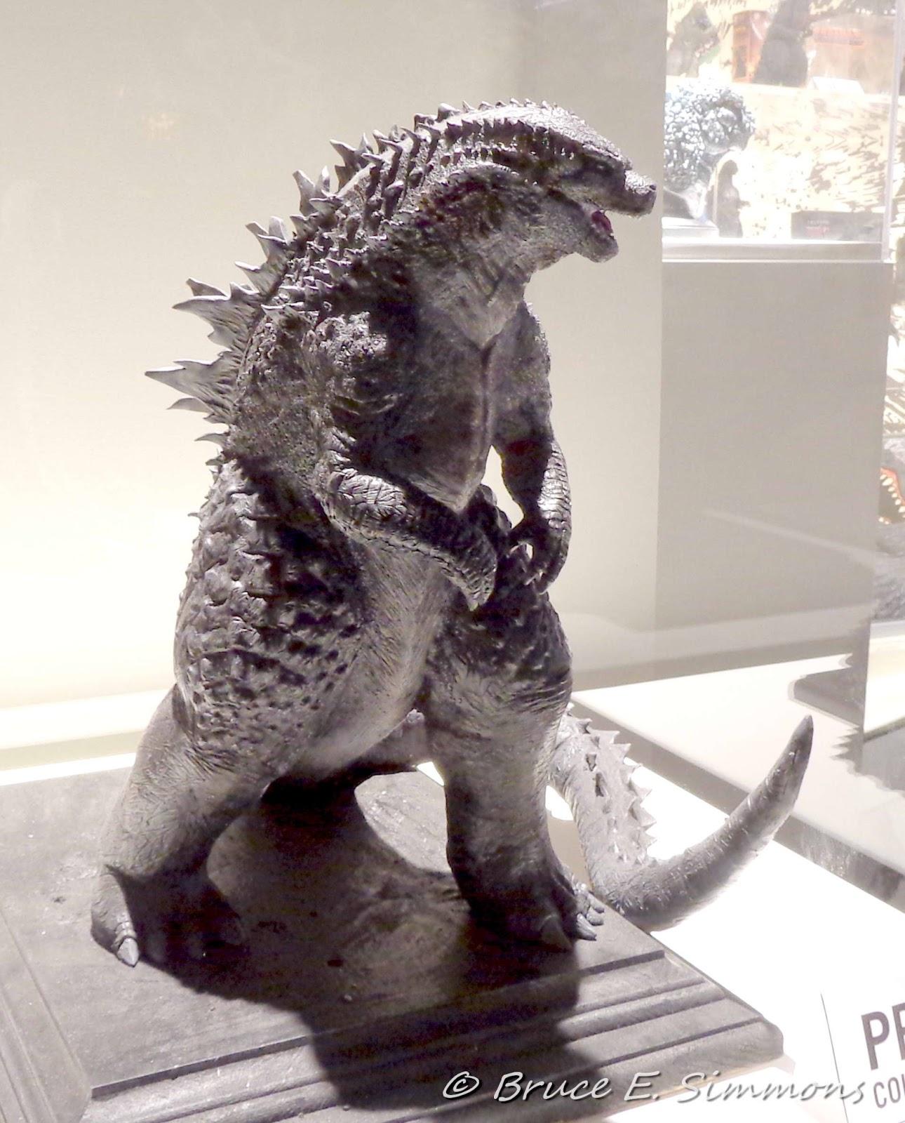 Godzilla 2014 model