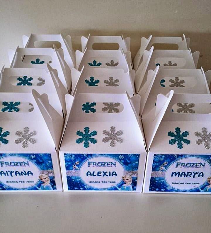 diy caja regalo personalizada cumpleaños frozen disney blog niños mama de noa