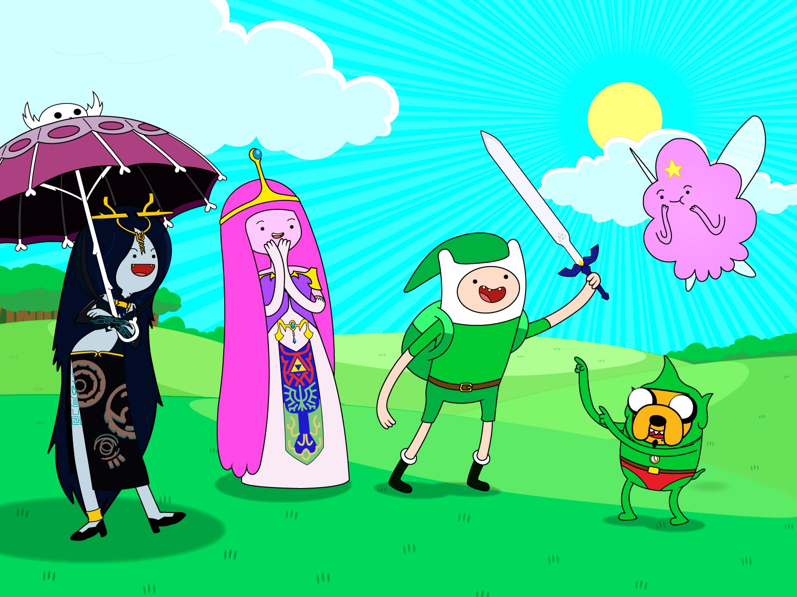 Character Design Adventure Time : Super kuka papel de parede hora aventura